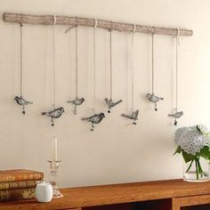 Best farmhouse wall decorations and rustic wall decor you will love. We absolutely love country themed wall decorations including farmhouse wall art, canvas art, mirrors, and more. Wall Decor Set, Rustic Wall Decor, Rustic Walls, Metal Wall Decor, Tree Branch Decor, Tree Branch Crafts, Tree Wall Decor, Compass Wall Decor, Starburst Wall Decor