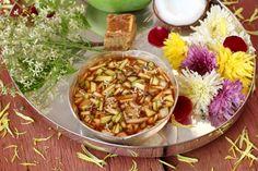 Ugadi pachadi prepared for our Telugu New Year.