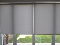 foto de Woodnotes roller blinds Vista paper yarn cotton fabric col