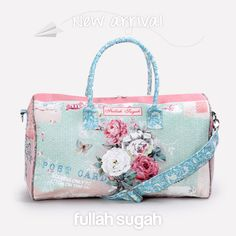 New Arrival  Σάκος με floral ταπετσαρία  14341035 #fullahsugah #fullah_sugah #fashion #shopping #summer_mood #bags