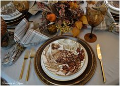 Rosemary and Thyme: Tablescapes