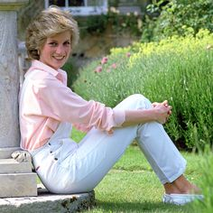 Princess Diana made white overalls look chic. See some of fashion's best overall moments here.