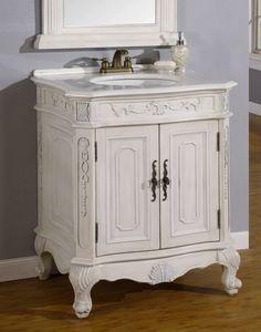 Bathroom Cabinets Victorian empire light walnut bathroom vanitybellaterra home   bathroom