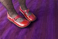 Alegria Dayna Red Lifeline Patent | Alegria Shoes