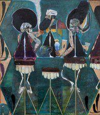 Delta House Blues, Oil on linen. x inches. Artist Painting, Painting & Drawing, Ryan Mosley, Hannah Wilke, Dorothea Tanning, Delta House, Figurative Kunst, Gordon Parks, Robert Mapplethorpe