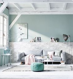 Éclairage De Salle De Bains, Loft, Baignoire, Miroir, Lit, Meuble,  Décoration De Maison