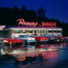 Bucket list: Rosie's Diner @ Michigan