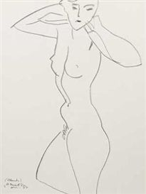 Artwork by Henri Matisse, Nudes & Face, Made of Lithographs