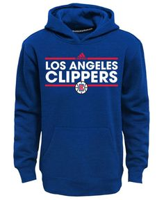adidas Boys' Los Angeles Clippers Power Play Hoodie