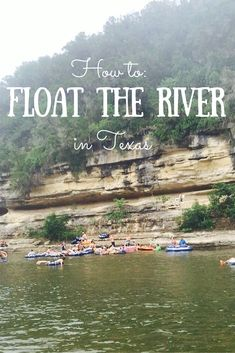 Floating the river in Texas is a 5-step process. Here are those steps + tips for the trip! | Guadalupe River, Texas