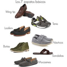 """7 basicos"" by mafer-cisneros on Polyvore"