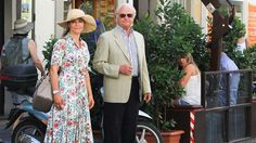 Crown Princess Victoria, King Carl Gustaf and Queen Silvia were seen in Florence, Italy
