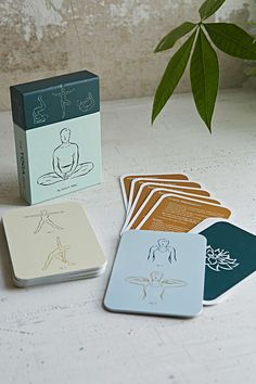 Yoga Positions Card Set-Urban Outfitters