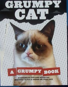 """See Grumpy Cat greet her fans at a book launch event for """"Grumpy Cat: A Grumpy Book."""""""