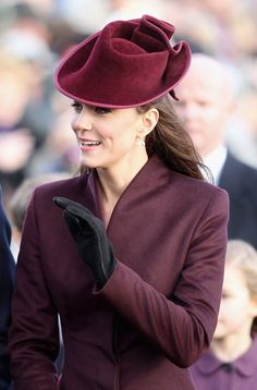 The Duchess of Cambridge on her first Royal Christmas day