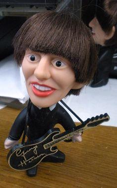 The Beatles Original 1964 George Harrison Doll by NEMS Seltaeb