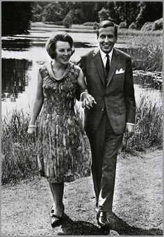 Princess Beatrix of the Netherlands and Prince Claus