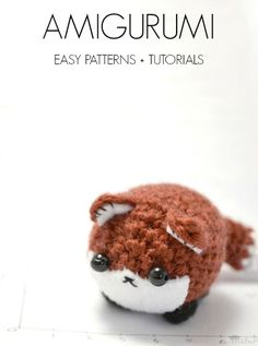 The Cutest Amigurumi — Easy Patterns + Tutorials.....one day I will try these