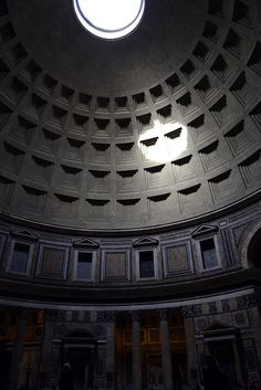 Pantheon coffered ceiling