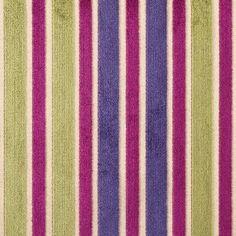 Cardinal Multi Stripes Velvet