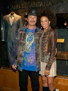 Carlos and Cindy Santana