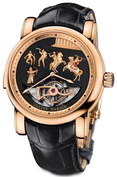Обзор часов Ulysse Nardin Alexander The Great Minute Repeater Westminster Tourbillon Carillon Jaquemarts | WatchesTalk.ru - Блог о часах