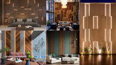 Wooden wall paneling design ideas 2021 Wall Decor Design, Wooden Walls, Divider, Design Ideas, Curtains, Room, Furniture, Home Decor, Wood Walls