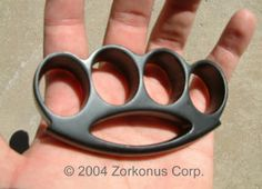 Renegade Brass Knuckles, Medium, Black