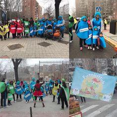 Muuucha marcha en la Comparsa Fuenli del #Carnaval de #Fuenlabrada