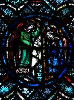 St. Dominics Catholic Church, roundel detail