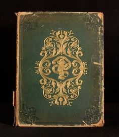 1841 Findens' Tableaux Iris of Prose Poetry Art Illustrated Mary Russell Mitford