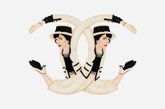 Mode-Ikonen werden zu Logos | TUSH Online