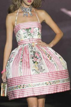 Betsey Johnson Spring 2011 Details. I have this dress. I love it!