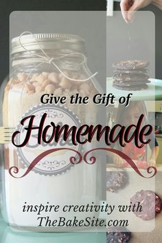 Gourmet Baking Mixes make thoughtful, unique gifts for any person at any age. Nothing compares to homemade. Give your loved ones the gift of creativity and comfort this year. Check out the collection at TheBakeSite.com!