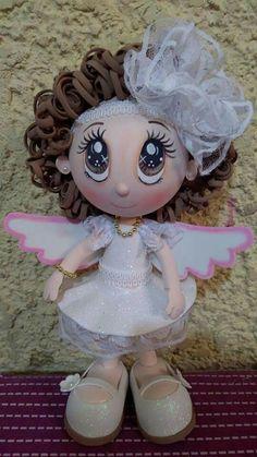 Diy Crafts For Gifts, Foam Crafts, Doll Toys, Dolls, Baby Shawer, Biscuit, Ancient China, General Crafts, Jack Skellington