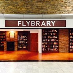 Cape Town Airport Flybrary- Instagram photo by @alexandergwilson [Take a book. Leave a book.]
