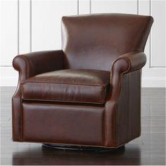 leather glider