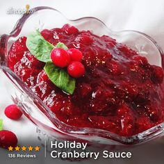 """""""This stuff is so good I couldn't stop eating it out of the saucepan and I've never been a fan of cranberry sauce! If you can boil water, you can make this."""" —Janet G. 