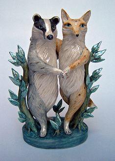 Fox and Badger dancing - Eleanor Bartleman
