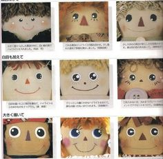 como pintar ojos en muñecas - montse cobas - Álbumes web de Picasa
