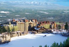 Mohonk Mountain House in New Paltz, NY, just an awesome hotel and location
