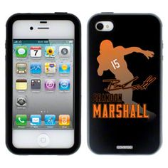 NEW ARRIVAL: Brandon Marshall Silhouette on iPhone 4 / 4S Guardian Case by Coveroo #Bears http://www.fansedge.com/Brandon-Marshall-Silhouette-on-iPhone-4-4S-Guardian-Case-by-Coveroo-_-919470234_PD.html?social=pinterest_pfid55-02852