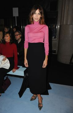 Style modell av veckan: Alexa Chung
