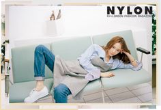 f(x)'s Krystal is featured in a new pictorial for fashion magazine Nylon Korea. In the photos, Krystal proves yet again that she can rock anything, capturing the camera with her elegance and poise. She poses in the tomboyish looks that are emblematic of her own personal style, like oxford shir...