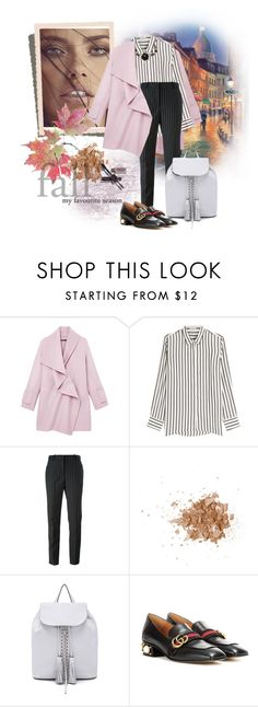"""""""Без названия #1447"""" by holidai ❤ liked on Polyvore featuring Vince, Brunello Cucinelli, Givenchy, Topshop, Rebecca Minkoff, Gucci and Betsey Johnson"""