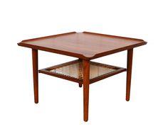 Poul Jensen Coffee Table Teak Side Table Danish Modern by HearthsideHome on Etsy