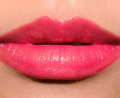 Guerlain Insolence (144) Rouge Automatique Lipstick with Star Dust (900) gloss on top