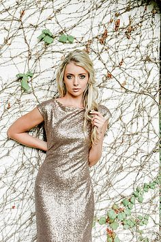Gelique Grace dress with a fitted skirt. Add a full sequins overlay and you have a stunning dress for any event. Wedding Dress Hire, Wedding Dresses, Glitter Dress, Fitted Skirt, Stunning Dresses, Evening Dresses, High Neck Dress, Short Sleeve Dresses