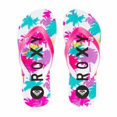 63ebfae57b4 Roxy Flip Flops - Roxy Tahiti Flip Flops - Crazy Pink  loooooooooooooovvvvvvvvvvvvvveeeeeeeeeeeeeeeeeee Roxy Shoes