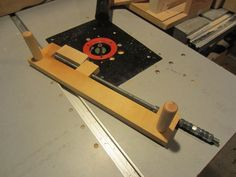 Small parts holder for router table profiling. - by Lsmart @ LumberJocks.com ~ woodworking community